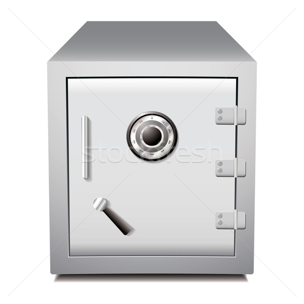 Secure metal safe Stock photo © nicemonkey