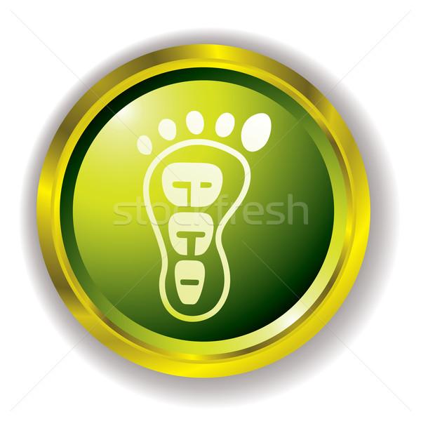 eco foot icon Stock photo © nicemonkey