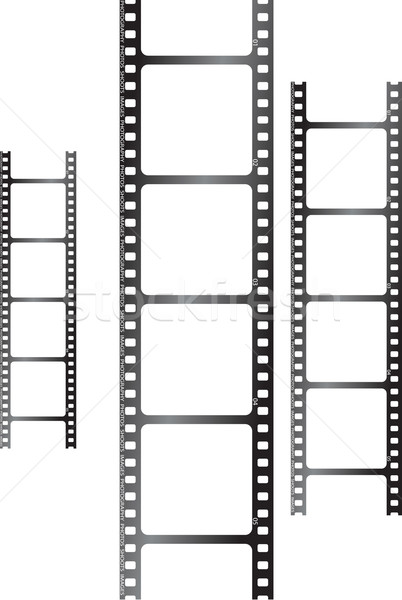 white film triple Stock photo © nicemonkey