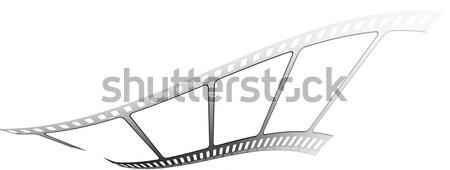 Fehér film darab film mozi színház Stock fotó © nicemonkey
