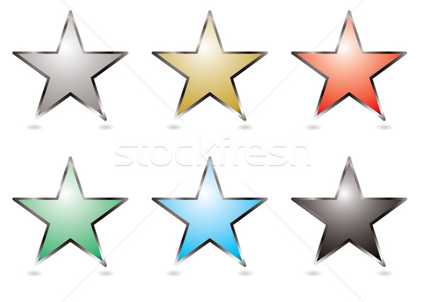 star buttons Stock photo © nicemonkey