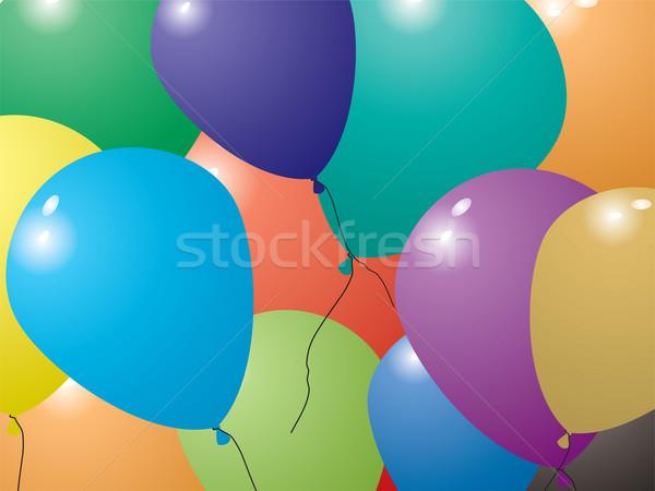 balloon invite Stock photo © nicemonkey