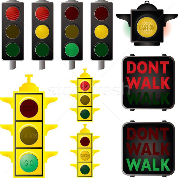 traffic signals Stock photo © nicemonkey