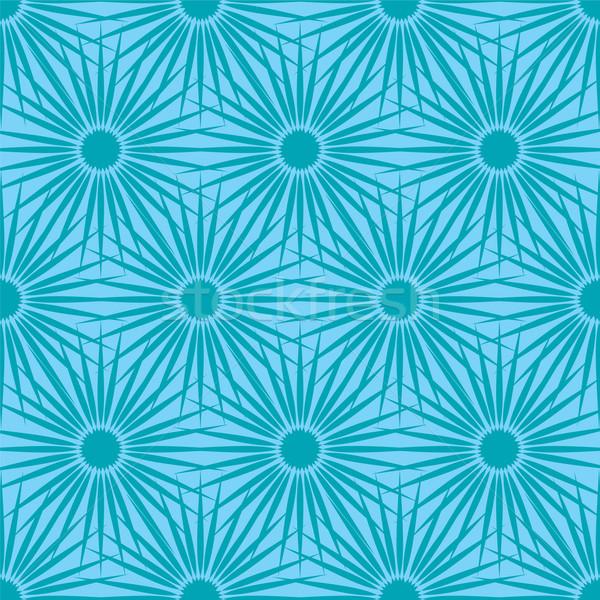 Fiore abstract senza soluzione di continuità ripetizione piastrelle Foto d'archivio © nicemonkey