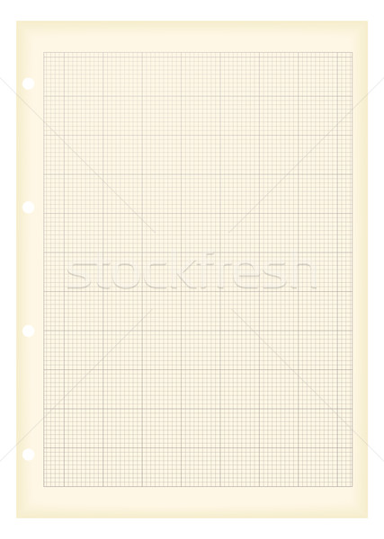 grunge a4 graph paper Stock photo © nicemonkey