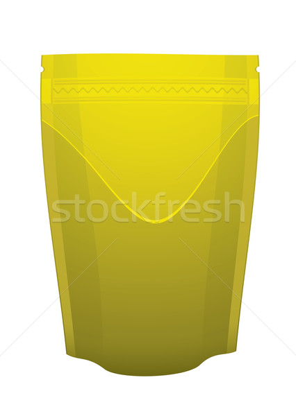 Gold foil food pouch Stock photo © nicemonkey