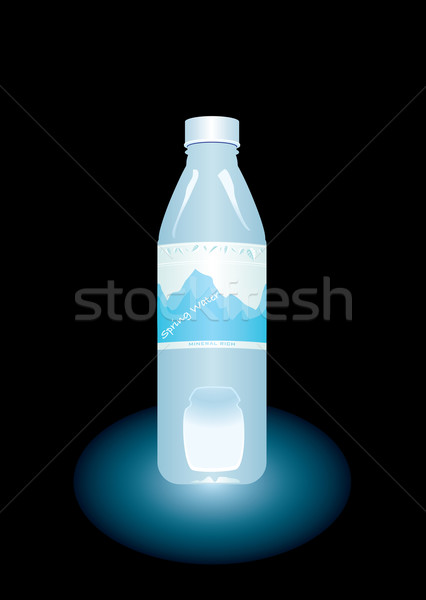bottled water Stock photo © nicemonkey
