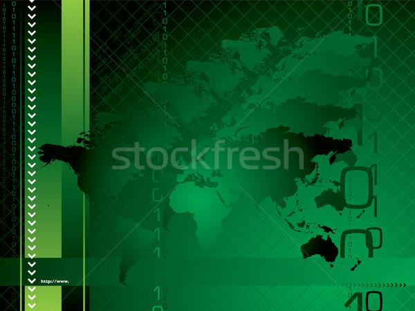 global background green Stock photo © nicemonkey