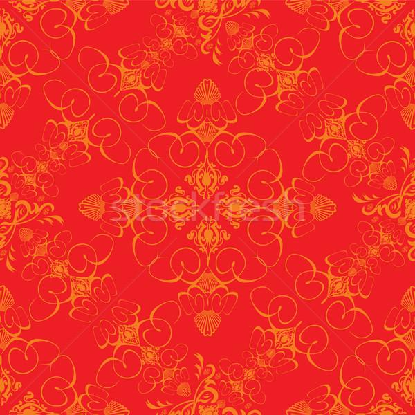 Güneş yanığı duvar kağıdı soyut dizayn eski moda stil Stok fotoğraf © nicemonkey