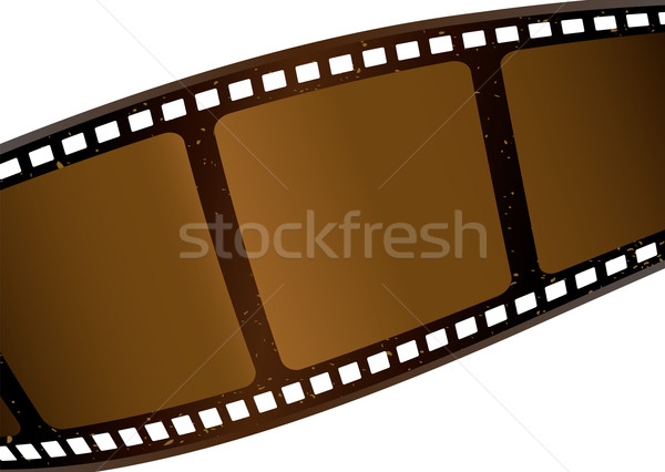 brown film strip Stock photo © nicemonkey