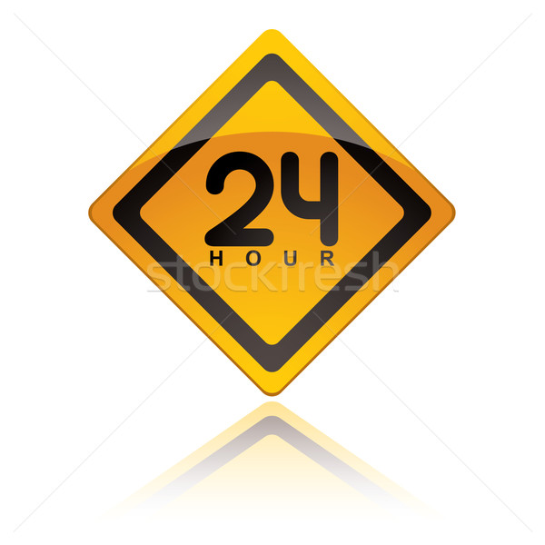 24 Hour icons Stock photo © nicemonkey
