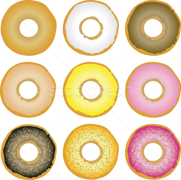 実例 9 異なる 食品 コーヒー キャンディ ストックフォト © nicemonkey