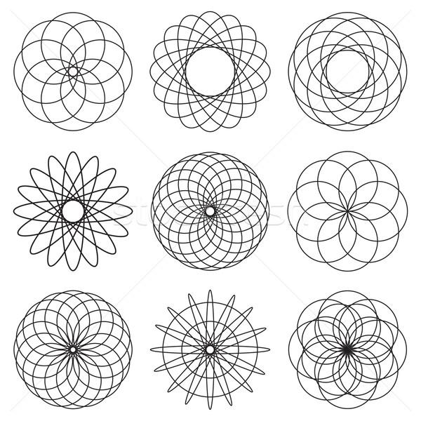 illustrated spiral effect Stock photo © nicemonkey