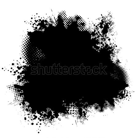 ink black halftone Stock photo © nicemonkey