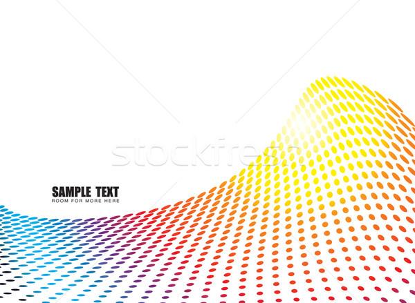 rainbow wave glide Stock photo © nicemonkey