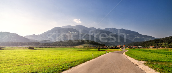 road through Alps. Stock photo © Nickolya