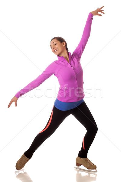 Figure Skater Stock photo © nickp37