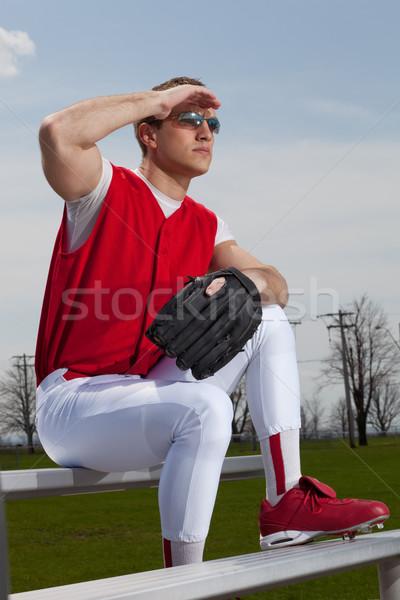 Baseball Player Stock photo © nickp37