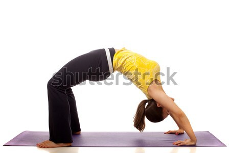 Yoga Pose Stock photo © nickp37