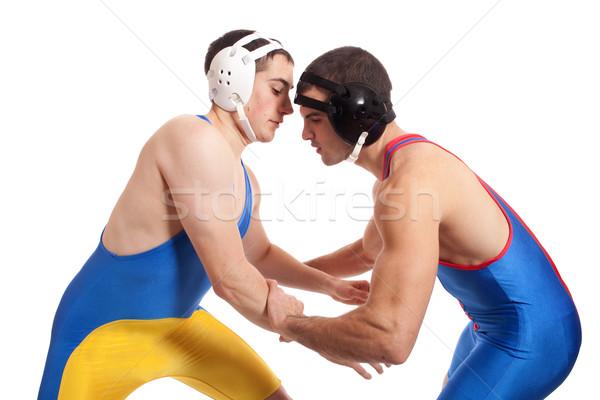 2 男性 白 スポーツ スポーツ ストックフォト © nickp37