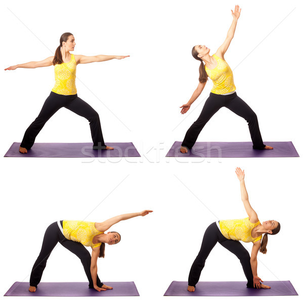 Yoga Pose Series Stock photo © nickp37