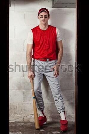 мужчины регби игрок конкретные стены человека Сток-фото © nickp37