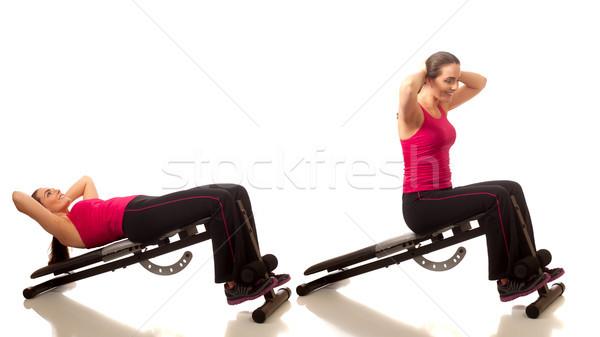 Sit Ups Stock photo © nickp37