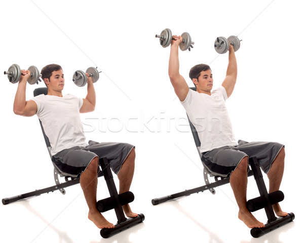 Lifting Weights Stock photo © nickp37