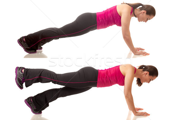 Plank Exercise Stock photo © nickp37