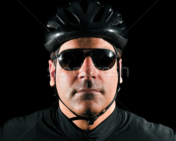 Cyclist Headshot Stock photo © nickp37