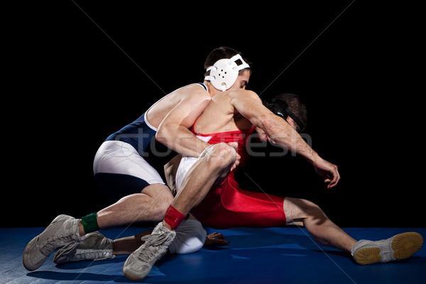 Wrestling Stock photo © nickp37
