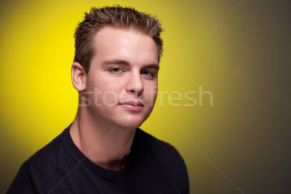 Young Man Headshot Stock photo © nickp37