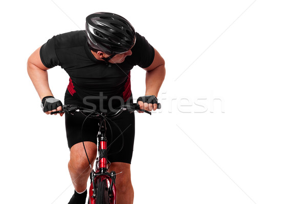 Cyclist Riding Bike Stock photo © nickp37