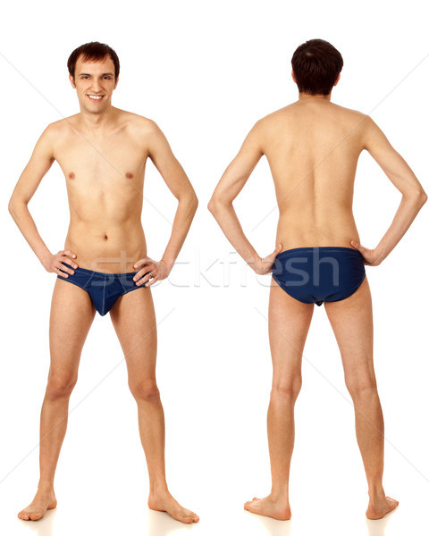 Man in Swimwear Stock photo © nickp37