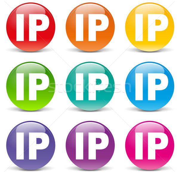 Vector ip address icons Stock photo © nickylarson974