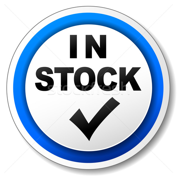 In stock icon Stock photo © nickylarson974