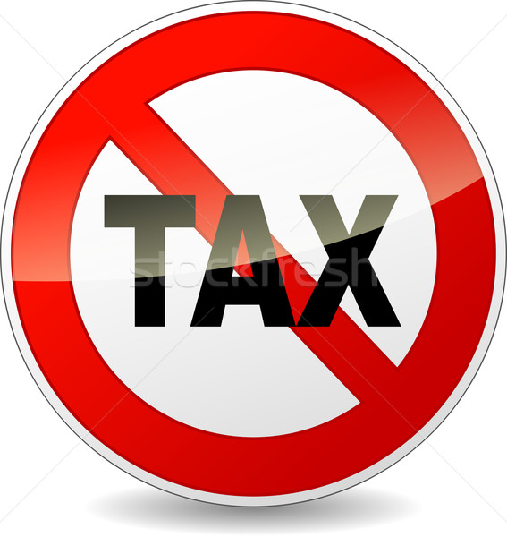 no tax sign Stock photo © nickylarson974