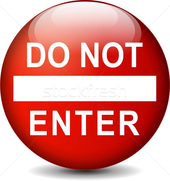 no entry sign Stock photo © nickylarson974