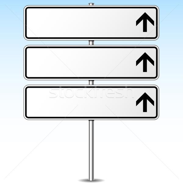 Tabelasını örnek üç arka plan trafik Stok fotoğraf © nickylarson974