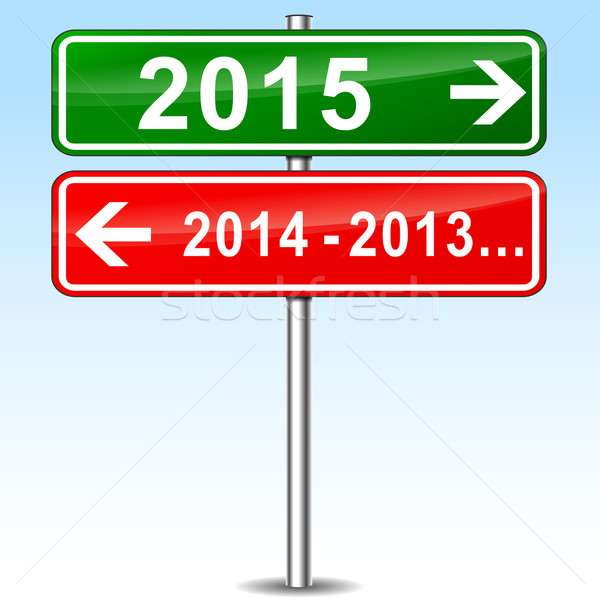 new year concept Stock photo © nickylarson974