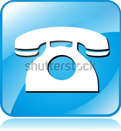 phone design icon Stock photo © nickylarson974