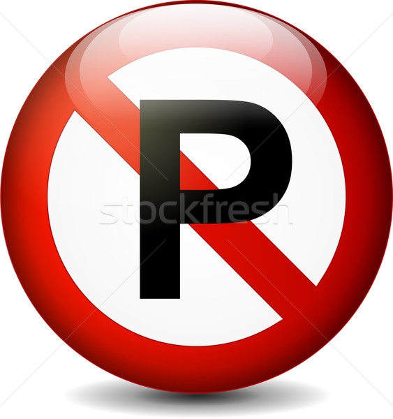no parking sign Stock photo © nickylarson974