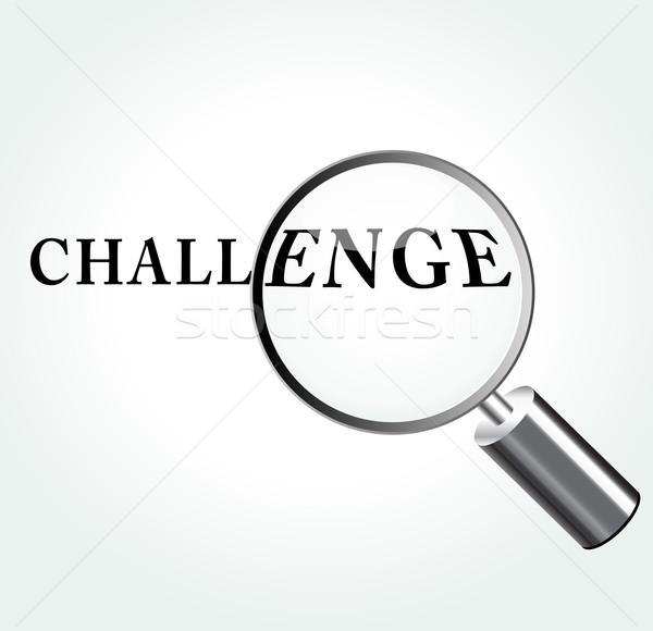 Vector challenge concept illustration Stock photo © nickylarson974