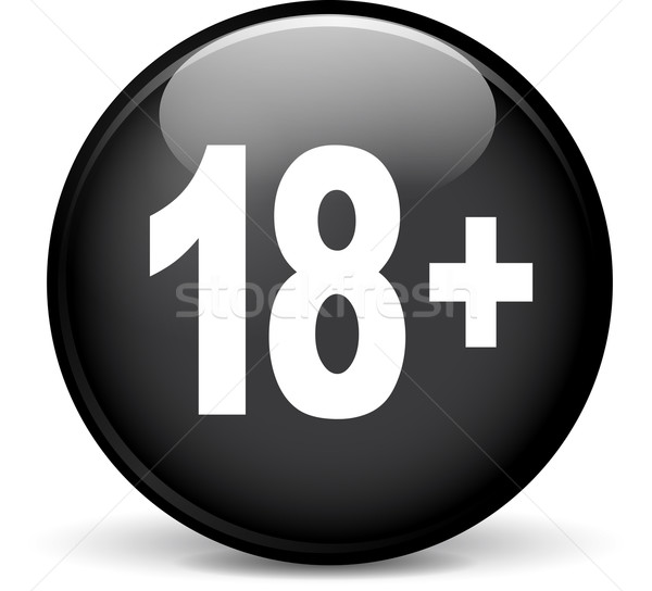 eighteen icon Stock photo © nickylarson974