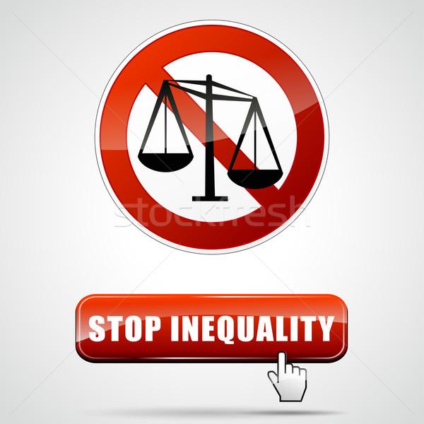 stop inequality Stock photo © nickylarson974