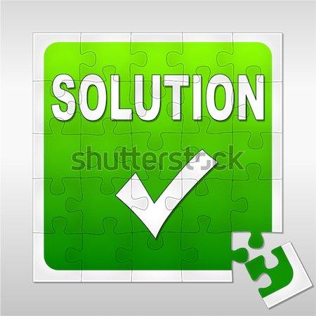 green available icon Stock photo © nickylarson974