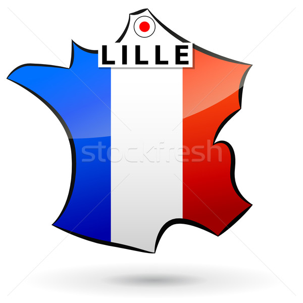 French icon Stock photo © nickylarson974