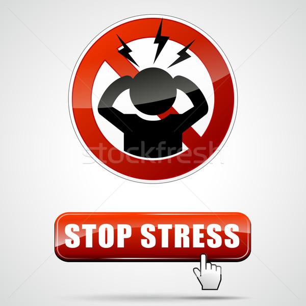 stop stress Stock photo © nickylarson974