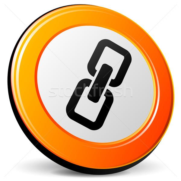 chain icon Stock photo © nickylarson974