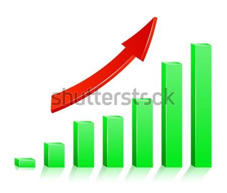 Zdjęcia stock: Sukces · wykres · projektu · podpisania · bar · firmy